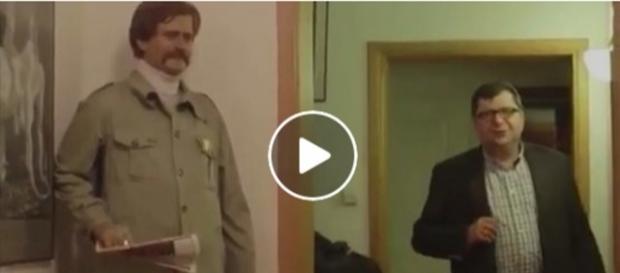 Zbigniew Stonoga 'gościł' wówczas w domu samego Jerzego Urbana. Niektórym od razu wydało się to podejrzane.