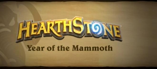 2017 ist Hearthstone's Jahr des Mammuts: drei volle Expansions und wilde Karten