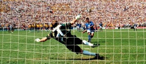 Il rigore di Pasadena durante la finale del mondiale di calcio del 1994
