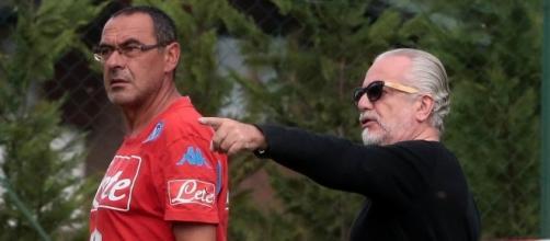 Ko Sarri, De Laurentiis corre ai ripari