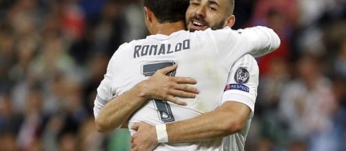Le duo de choc, Cristiano Ronaldo, Karim Benzema