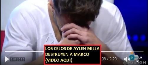 Marco quedó destrozado tras hablar con Aylen. Vídeo en la noticia