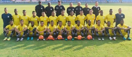 Nómina completa Atlético Fc. El equipo joven de Cali practica.