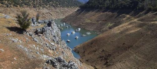 Water-starved Lake Oroville rises dramatic 20 feet in six days ... - sfgate.com