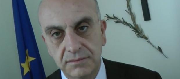 Gianpiero Bocci, sottosegretario all'Interno