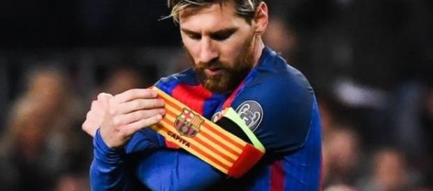 Lionel Messi, capitaine du FC Barcelone