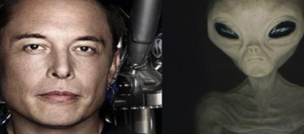 """""""Se existem alienígenas lá fora, eles provavelmente já estão nos observando"""", fala Musk (Banco de imagens Google)"""