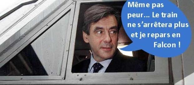Selon Closer, François Fillon aurait peur de prendre le train.