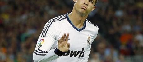 Célébration de Cristiano Ronaldo