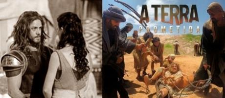 Otniel se torna escravo em 'A Terra Prometida'