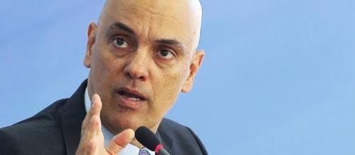 Alexandre de Moraes acabou deixando o cargo