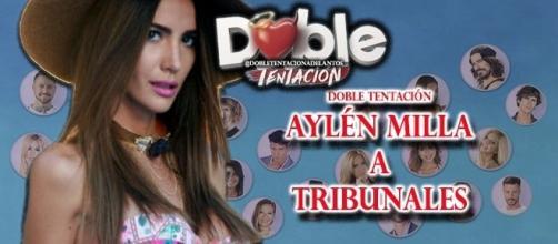 Aylén Milla acusa de robo a su ex Leandro Penna