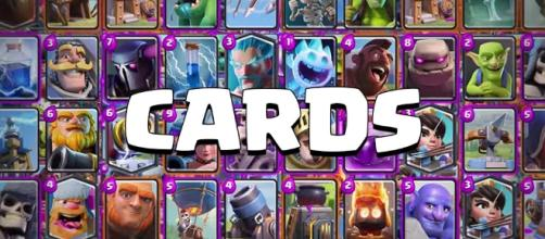 Clash Royale Cards - nuove carte