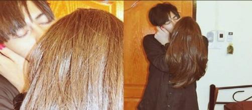Garoto beijando (Fonte:http://images.virgula.uol.com.br/2017/02/PicMonkey-Collage31.jpg)