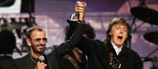 Paul McCartney and Ringo Starr come together for musical ... - scmp.com