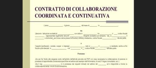 Un contratto di collaborazione coordinata e continuativa