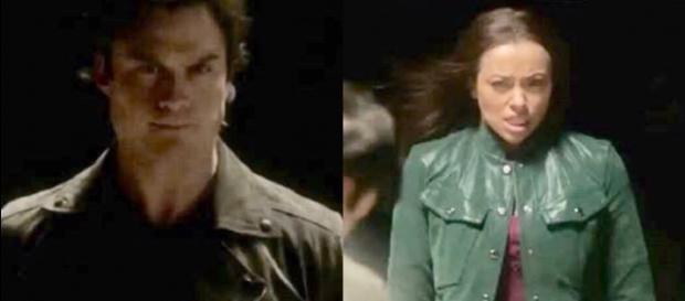Bonnie vira aliada de Cade e tenta matar Damon.