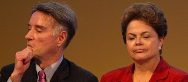 Eike Batista e a ex-presidente Dilma Rousseff