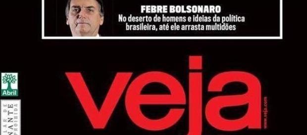 Revista mais lida do país abre espaço para Jair Bolsonaro