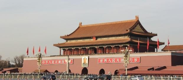 The forbidden city in the Chinese capital Beijing