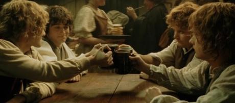 Screenshot do filme ''O Senhor dos Anéis''