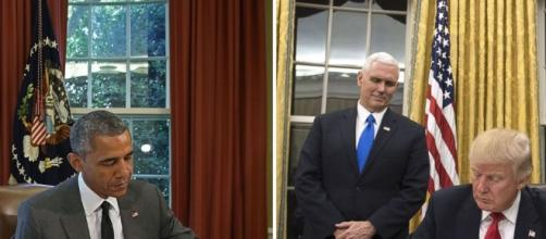 Donald Trump Brings Gold Curtains to the Oval Office - Photo: Blasting News Library - go.com