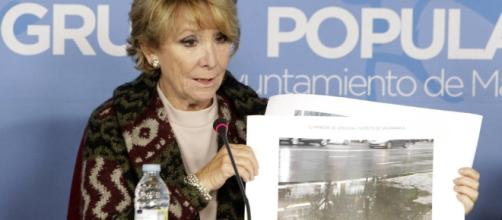 "Esperanza Aguirre da por ""seguro"" que De Cospedal será ministra ... - heraldo.es"
