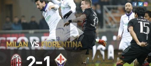 Milan Fiorentina 2-1: Kucka Kalinic e un super Deulofeu, highlights gol