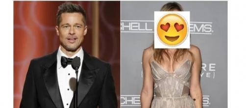 O ator Brad Pitt já tem um novo amor