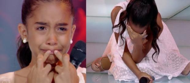 Isadora Ferreira no The Voice Kids