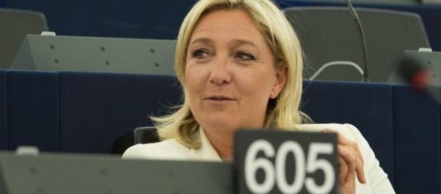 Marine le Pen - EU Parlement . - CC BY