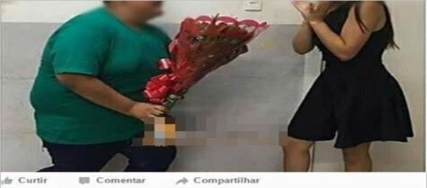 Mulher não perdoa homem que insiste em relação amorosa.