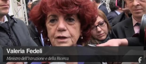 Valeria Fedeli all'Assemblea Nazionale del Partito Democratico