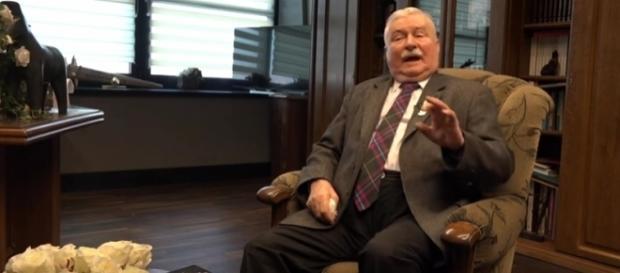 Wałesa udzielił wywiadu Stonodze