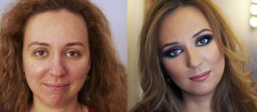 A maquiagem realmente pode mudar o visual de uma pessoa
