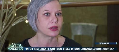 Anna, una delle donne che accusa il parroco di San Lazzaro.