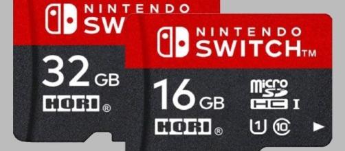 Le micro SD ufficiali per Nintendo Switch costeranno care