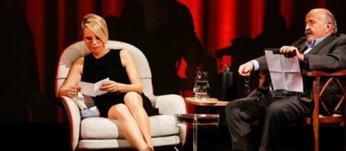 Maria De Filippi e Maurizio Costanzo a 'L'Intervista' su Canale5