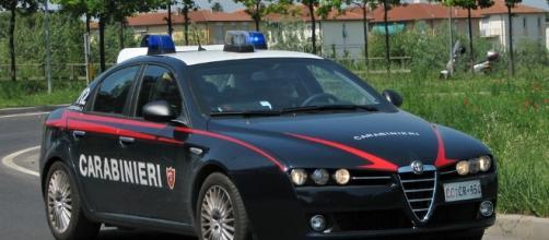 Vettura dell'arma dei Carabinieri