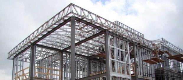 Construção de moradia em Light Steel Framing.