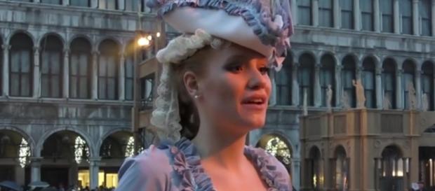 Claudia Marchiori, Angelo del Carnevale 2017