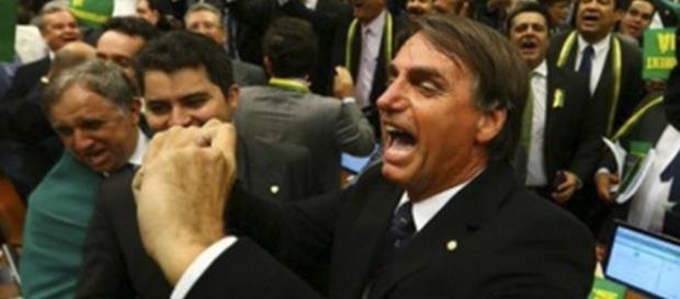 Jair Bolsonaro, deputado federal (PSC) e pré-candidato para presidente do Brasil nas eleições de 2018