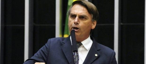 Jair Bolsonaro se candidata à presidência da Câmara (Foto: Reprodução)