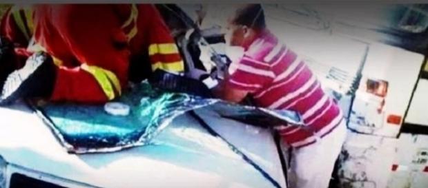 João Lucas, da dupla com Marcelo se envolve em acidente de carro