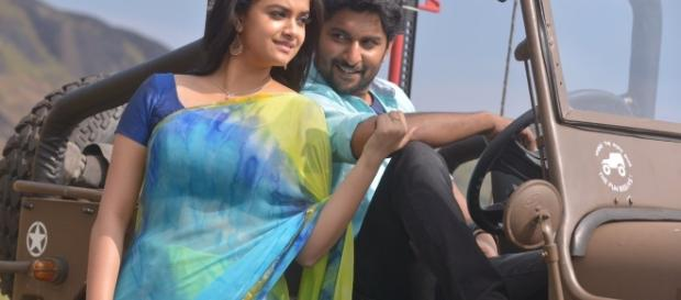 Keerthy Suresh and Nani from 'Nenu Local' (Image credits: PR Handout)