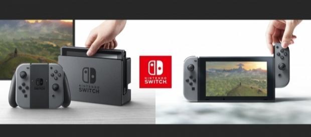 La nuova console Nintendo Switch che uscirà il prossimo 3 marzo 2017