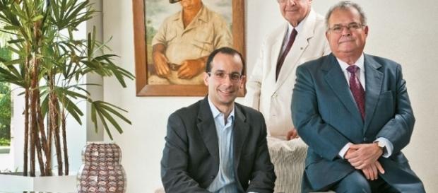 Marcelo Odebrecht e Emílio Odebrecht