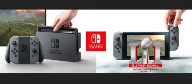 Nintendo Switch prepara un vídeo para el Super Bowl LI