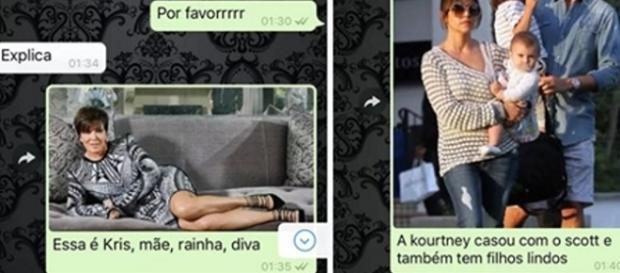 O rapper Tyga traiu sua esposa Chyna com Kylie Kardashian