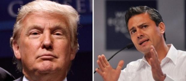 Președintele Donald Trump l-a amenințat pe omologul său mexican Pena Nieto să păzească granița comună altfel va trimite armata SUA acolo